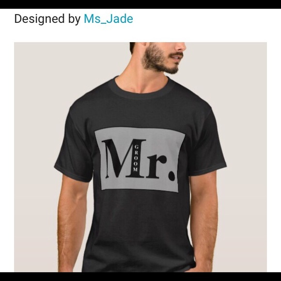 ed493a6d0500 Modern Casual Cool Mr. Groom Graphic Tee ♥ ▫ 🤵